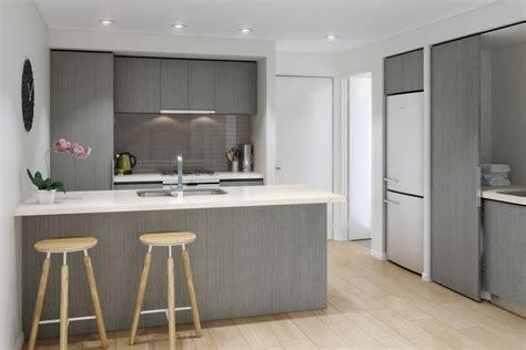 modele cuisine grise cuisine gris et bois en 50 modèles variés pour tous les