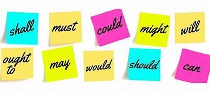 Modal Verbs Modals Verb Auxiliary English Grammar