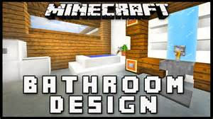 minecraft how to make a modern bathroom design house