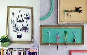 Diy ideas to brilliantly reuse old picture frames into