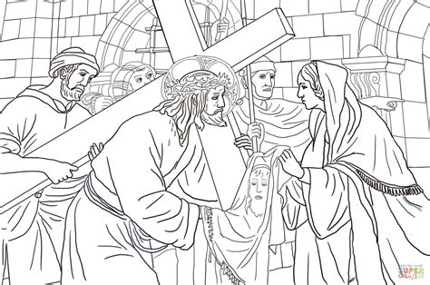 coloring pages jesus face gallery