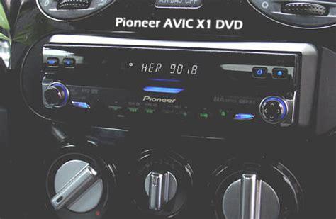 Pioneer AVIC X1 BT, Pioneer X 1 BT Einbau im BMW, Golf ...