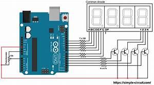 Print Arduino Adc Values On 7-segment Display