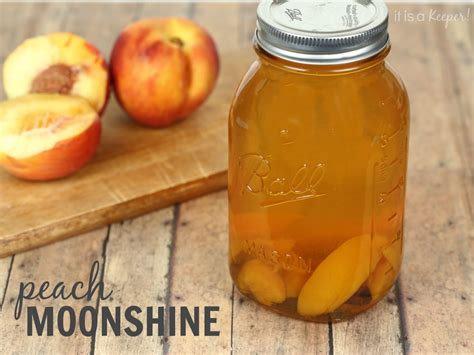 Peach Moonshine - It is a Keeper | Liquid Refreshments ...