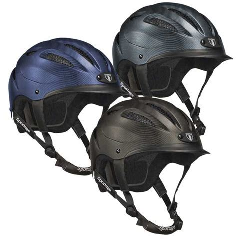 Tipperary Sportage Helmet, low profile horse riding helmet