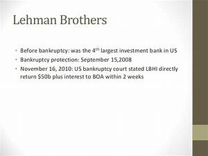 Lehman Brothers Profile