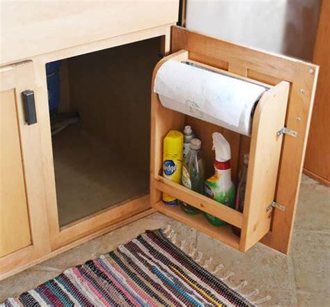 How To Make Kitchen Cabinet Door Organizer  Diy & Crafts