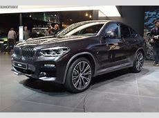 Genf 2018 LiveFotos BMW X4 G02 M Sport X in Sophistograu