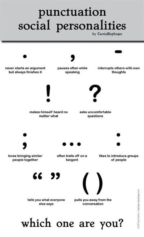Punctuation Social Personalities Churchmag
