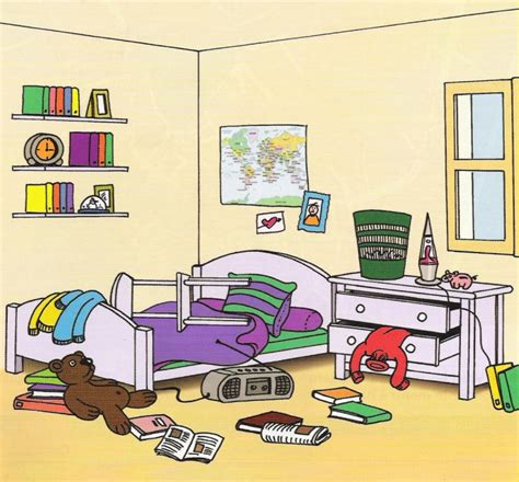 ranger une chambre parler de logement
