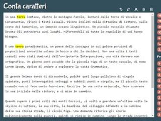Conta Caratteri Testo by Sito Conta Caratteri