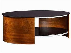 Cherry wood coffee tables for sale for Oval cherry wood coffee table
