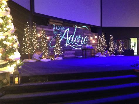 pallet projection church stage design ideas
