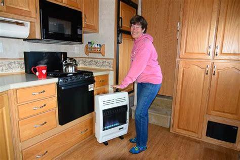 rv heater   install  vent  propane heater   rv