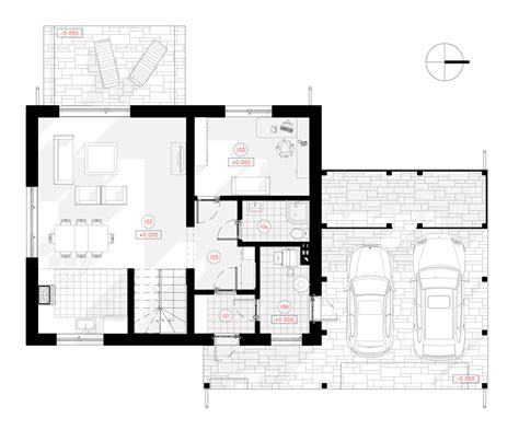 bathroom floor plan ideas two storey house with a loft project vygandas nps projects