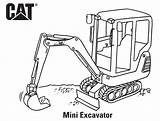 Coloring Cat Excavator Pages Caterpillar Mini Printable Birthday Printables Colouring Sheet Sheets Popular Scene7 sketch template