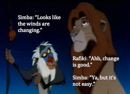 lion king simba  rafiki change  good