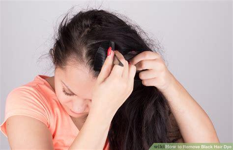 3 Ways To Remove Black Hair Dye
