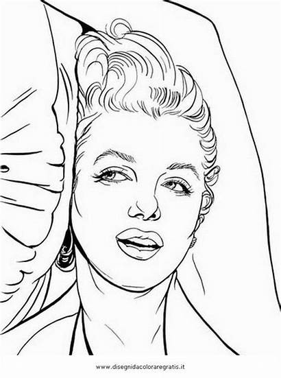 Marilyn Monroe Coloring Pages Adult Drawing Bing