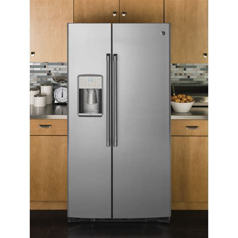 CZS22MSKSS   GE Cafe Counter Depth Side by Side Refrigerator