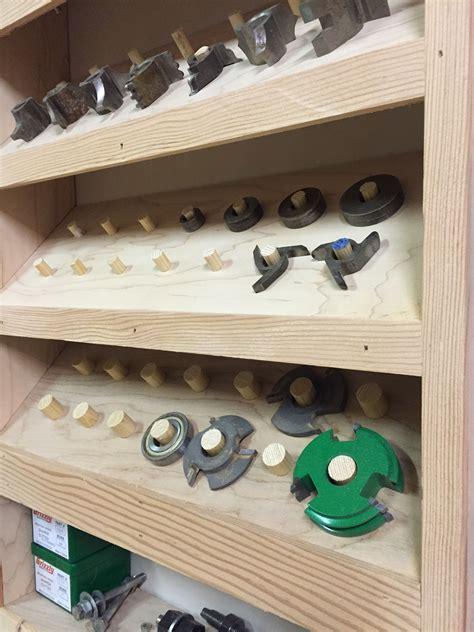 pin  woodshop storage
