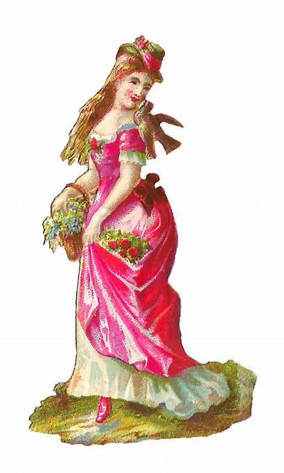 Victorian Antique Woman Digital Scrap Clip Lady