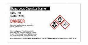 getting your ghs labels osha ready onlinelabelscom With all hazardous chemical labels must be