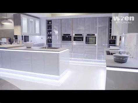 wren kitchens milano contour seafoam youtube