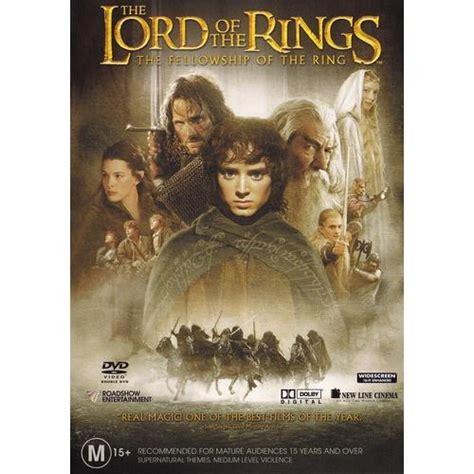 lord rings dvd ring fellowship 2005 lotr australia