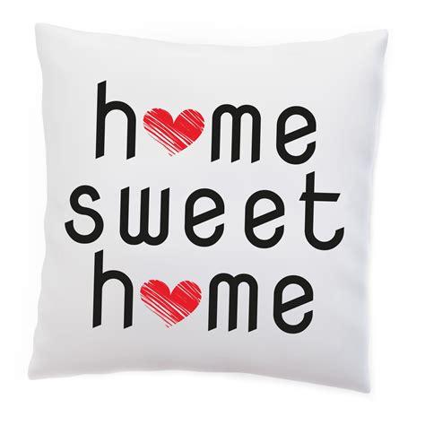 Kissen Home Sweet Home by Kissen Home Sweet Home Zuhause Liebe Heim Herz Familie