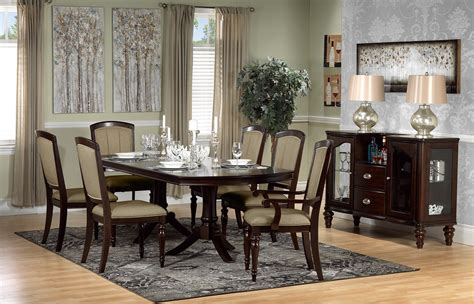 Cherry Dining Room Set by Thoreaux 7 Dining Room Set Cherry S
