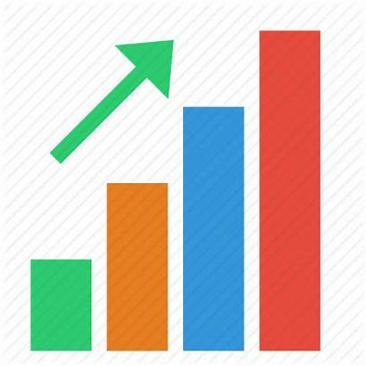Chart Increase Bar Icon Arrow Report Trend