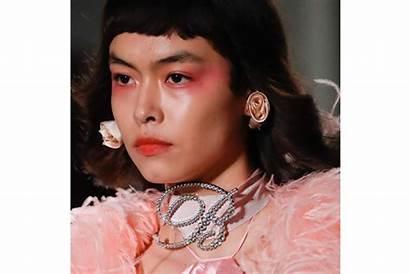 Makeup Week Milan Looks Ss Draping Eyeshadow