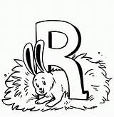 Coloring Rabbit Pages Printable Bestcoloringpagesforkids sketch template