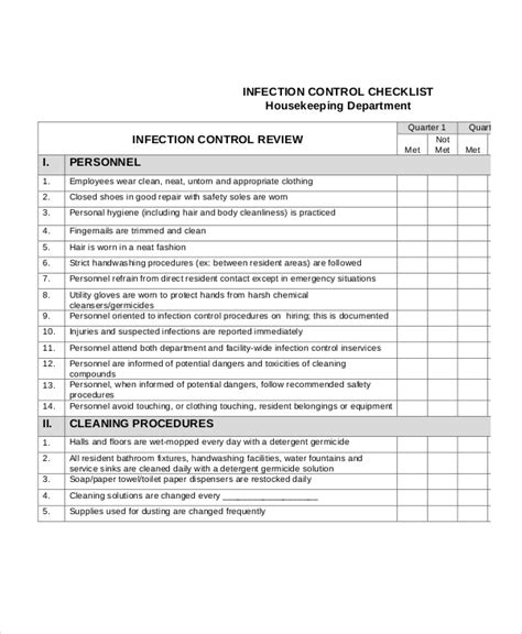 cleaning checklist  word  psd documents