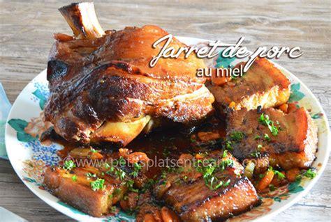 cuisiner un jarret de porc jarret de porc au miel petits plats entre amis