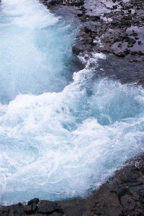 The Bluest Waterfall In Iceland Bruarfoss Meg Biram