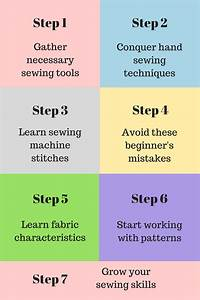 Sewing Tutorials For Beginners  7 Easy Steps To Learn