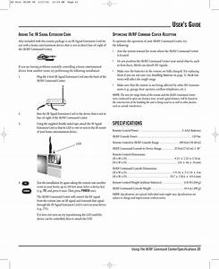 Radio Shack 1502117 Radioshack Remote Control User Manual