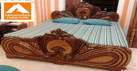bed wood design furniture