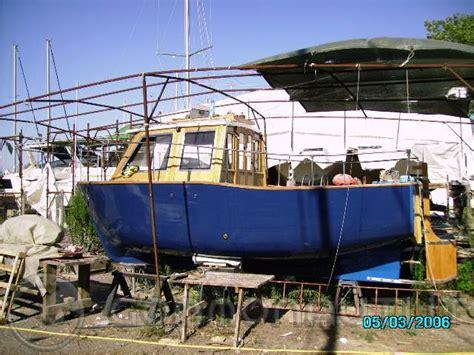 gozzo cabinato diesel barca gozzo cabinato autocostruito ford entrobordo 0 hp