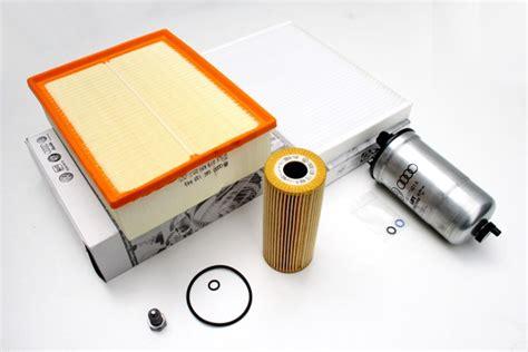 audi original teile audi a4 8e inspektionspaket 1 9 tdi original teile filter service filtereinsatz ahw shop vw