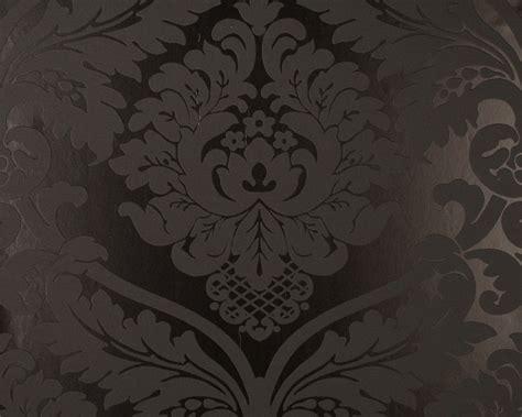 barock tapete türkis retro barock tapete black white 5526 31 schwarz