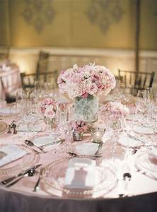 pink and white reception decor ideas elizabeth anne With pink decorations for weddings