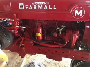 Farmall M 3 Point Hydraulic Hook Up - General Ih