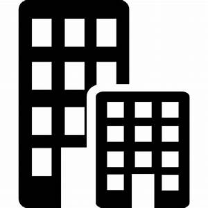 Offices buildings Icons | Free Download