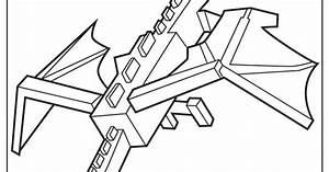 Kleurplaten Minecraft Steve.Kleurplaat Minecraft Ender Dragon Kleurplaat Minecraft Ender