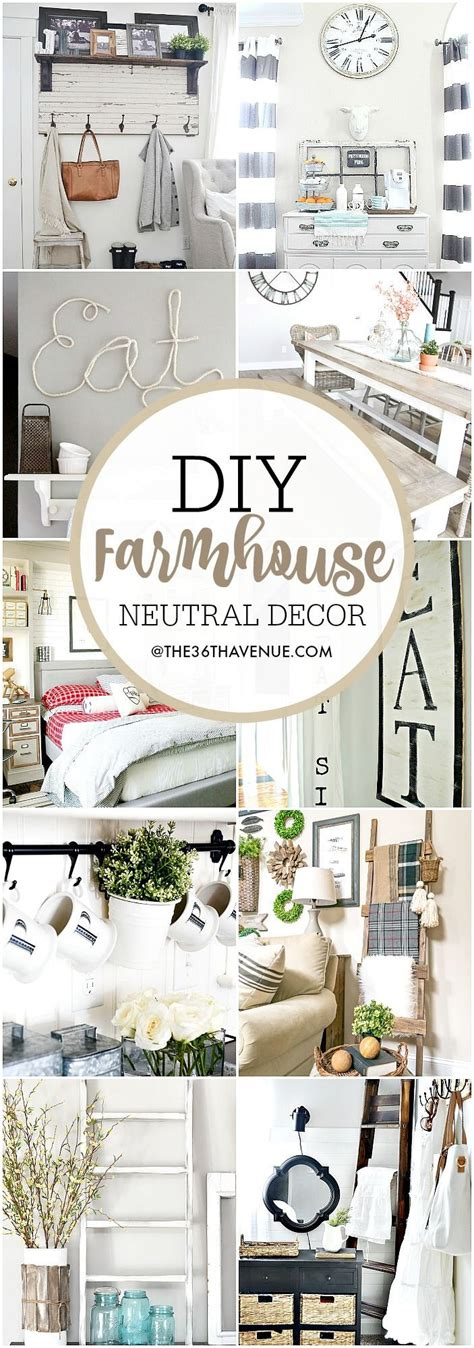 Farmhouse Diy Home Decor Ideas  The 36th Avenue  My Blog