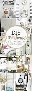 Farmhouse DIY Home Decor Ideas – The 36th AVENUE Home Decors