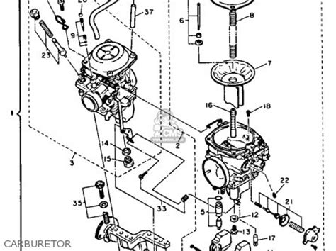 yamaha virago 1100 carburetor diagram wiring and engine diagram